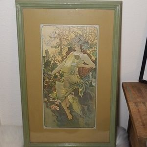 Vintage Windsor Art Products Mucha's Four Seasons